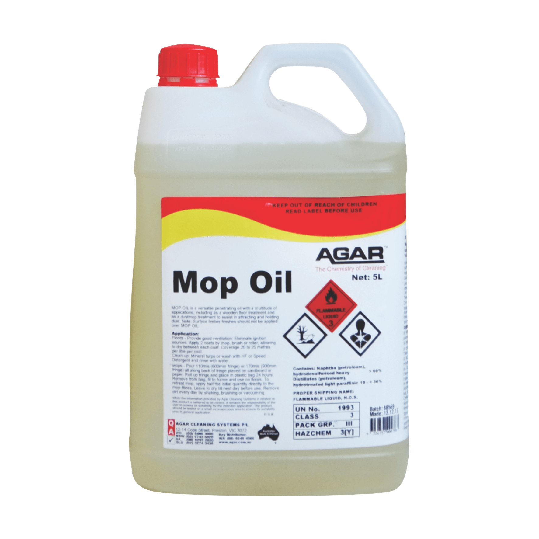 Mop Oil | Agar Cleaning Systems