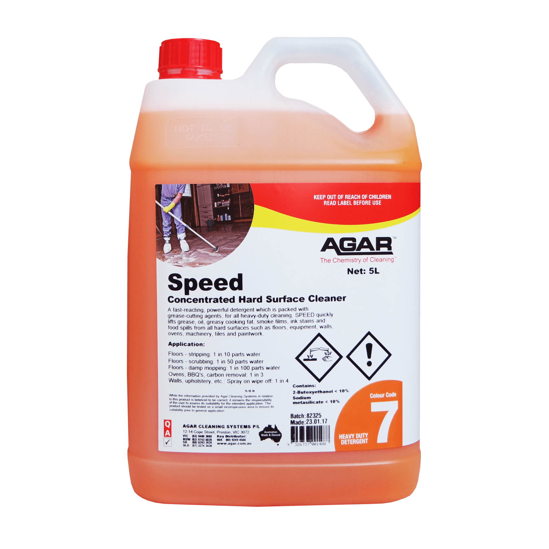 Speed - Detergent Degreaser | Agar Cleaning Systems